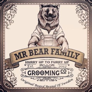 Mr Bear Family balsamo barba e baffi