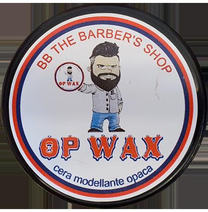 Cera per capelli Op Wax BB The Barber's Shop