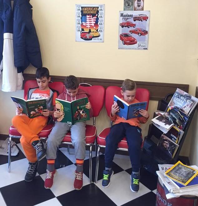 Taglio Bambini barbershop