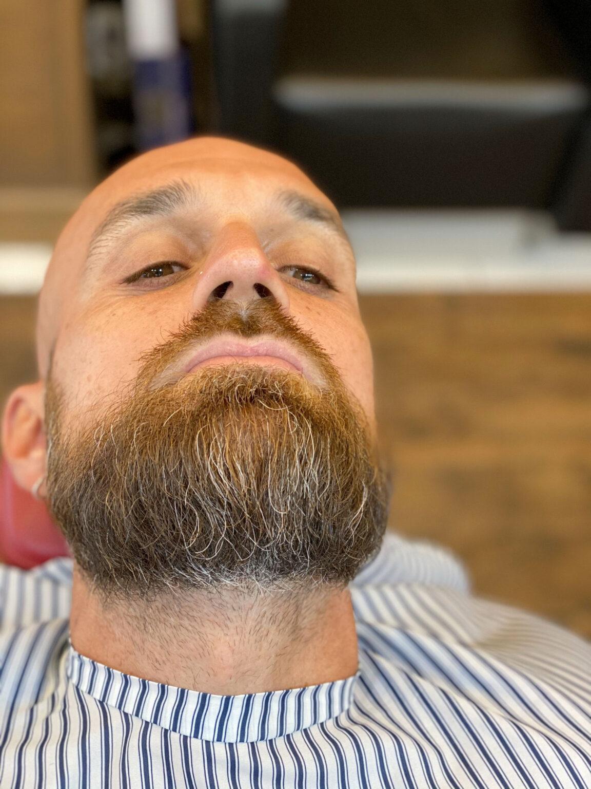 Taglio barba prima